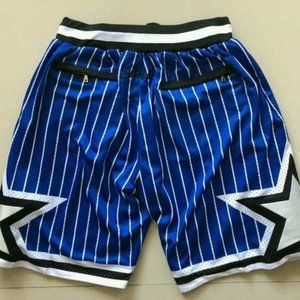 Just Don Shorts NBA Orlando Magic Swingman Shorts